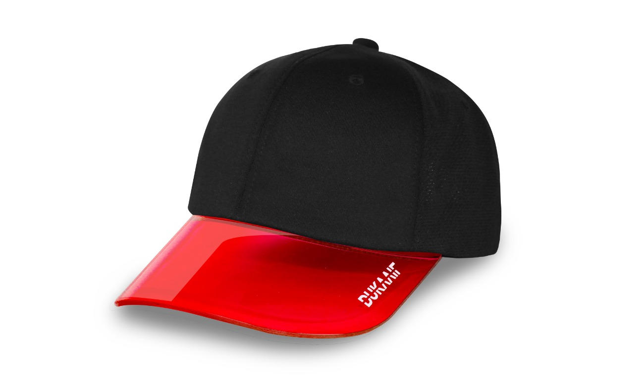 Plasticycle Visor Red(UPF50+)