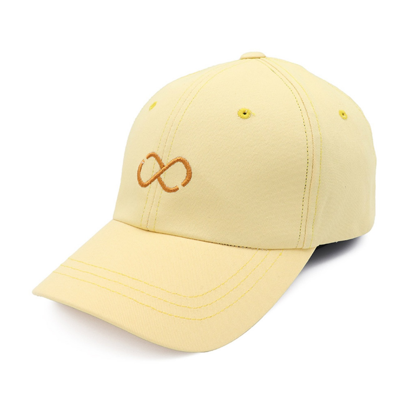 Front Infinito Logo Yellow